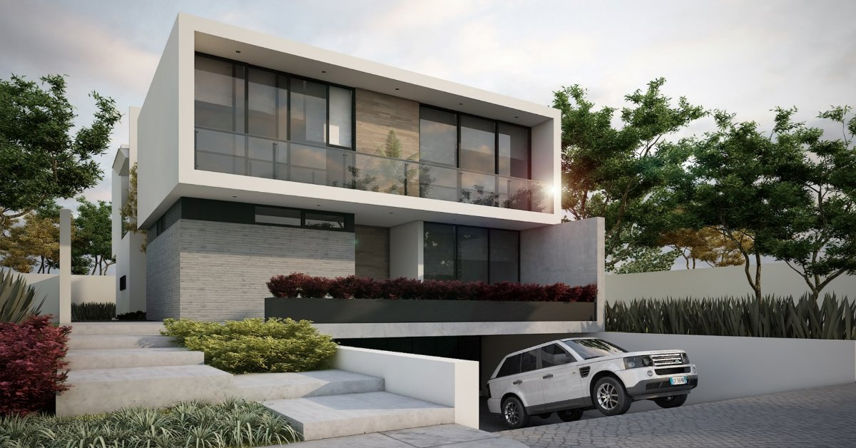 casa coto escondido valle real zapopan render
