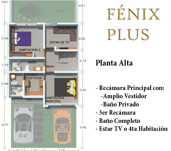casa fenix plus - valle imperial seccion bosques